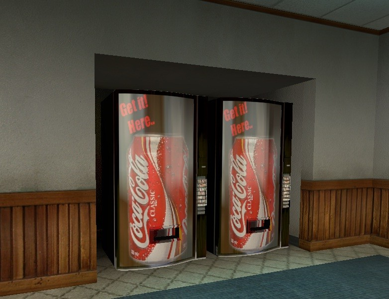 Скачать Coke Classic Vending Machine, картинки css, картинка Coke Classic Vending Machine