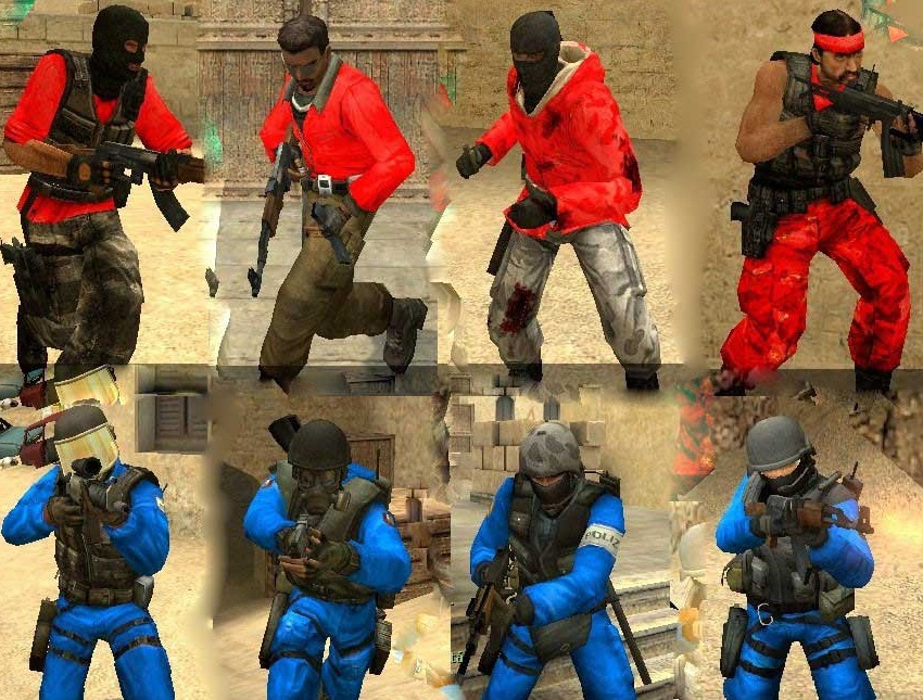Скачать Red vs Blue remake, картинки css, картинка Red vs Blue remake