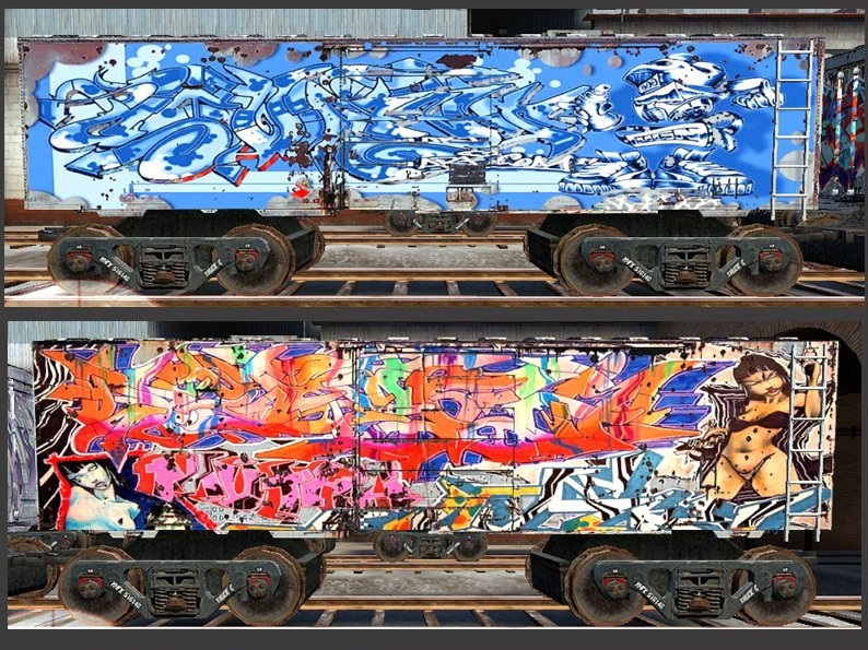 Скачать de_train_graffiti, картинки css, картинка de_train_graffiti