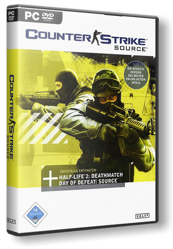 Скачать Counter-Strike: Source [v.84] (2014/PC/Русский) торрент для CSS