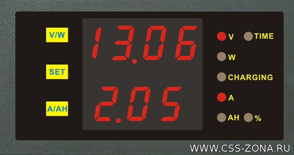 Реанимация аккумулятора с помощью вольтметра и амперметра