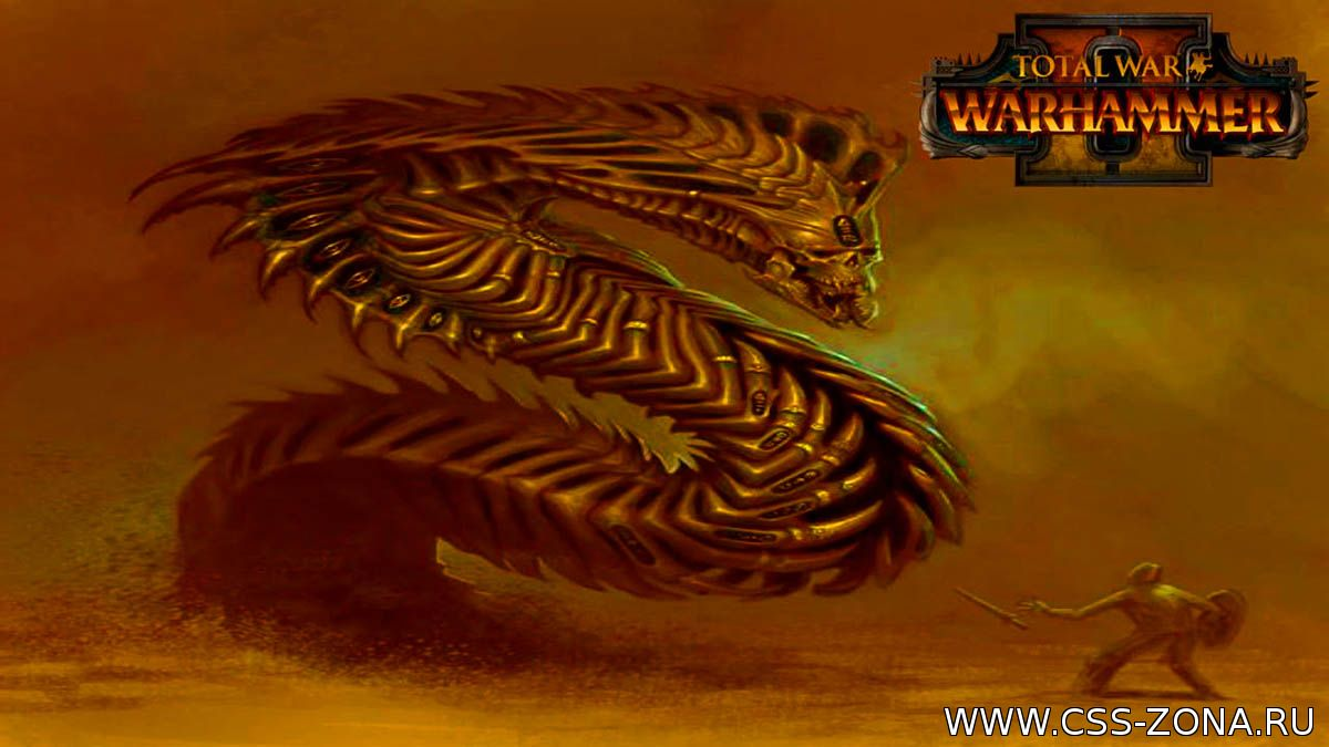 В январе выходит дополнение Rise of the Tomb Kings для Total War: Warhammer 2