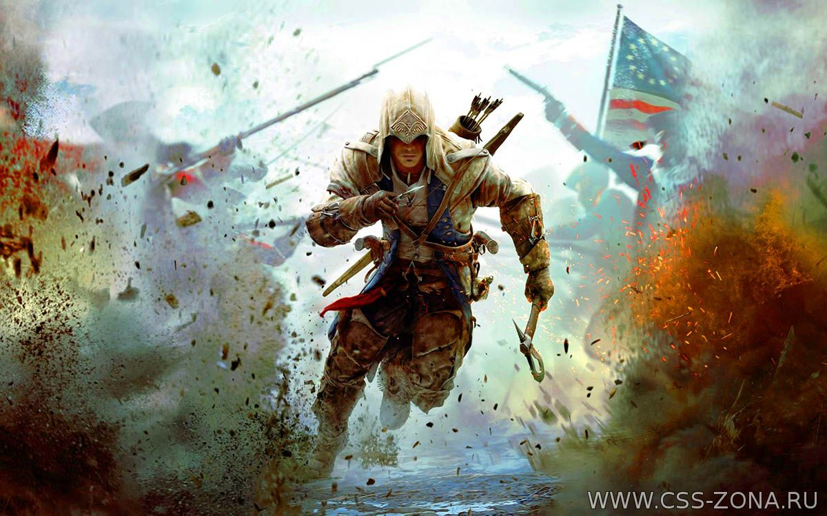Ubisoft планируют выпустить пять дополнений к игре Assassin's Creed 3