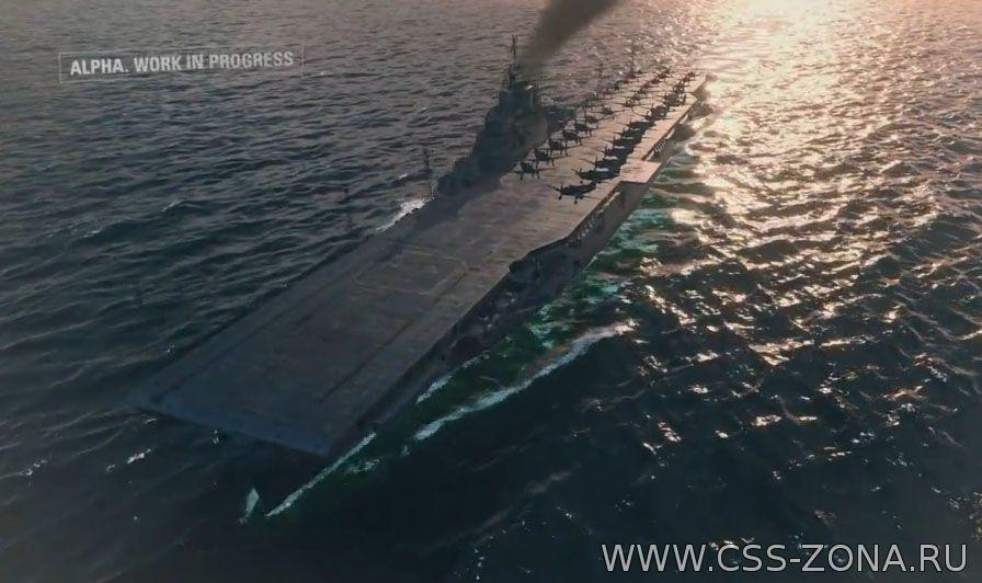 World of Warships авианосцы