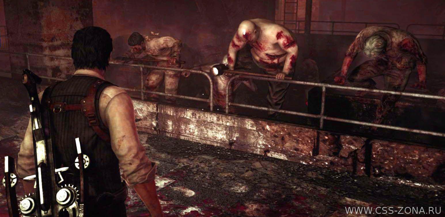The Evil Within: бой в кровавом подвале