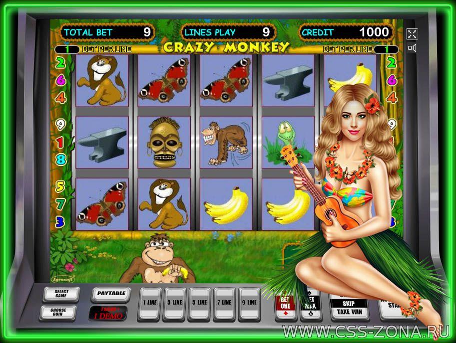 как играть в crazy monkey azino777