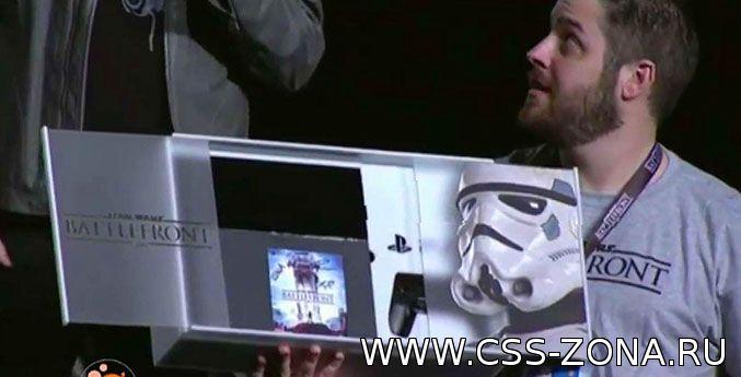 PlayStation в стиле Star Wars Battlefron PS4 Bundle