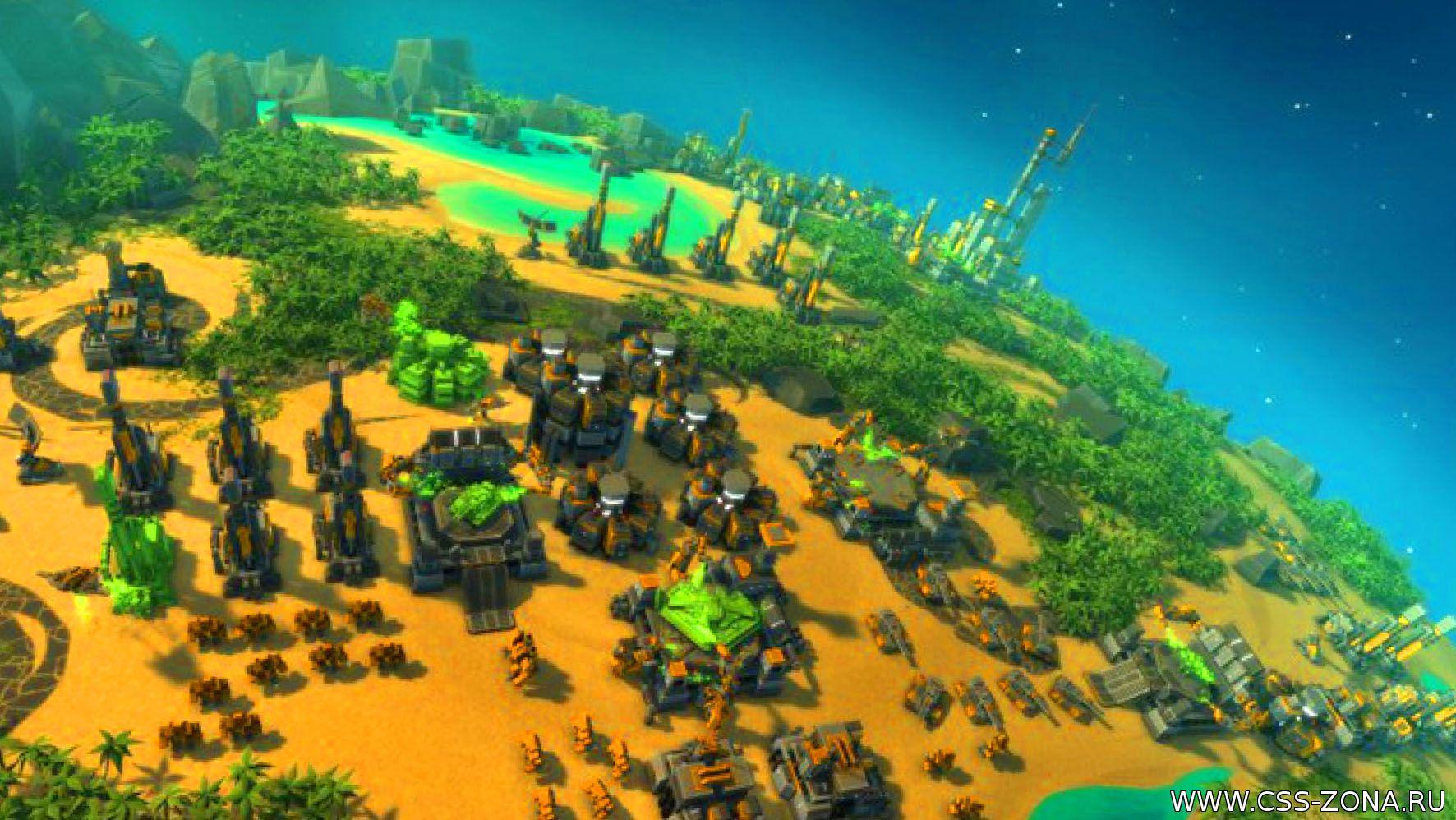 Для Planetary Annihilation вышло дополнение под названием Titans