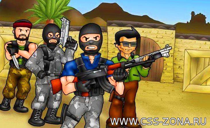 Как правильно атаковать ножом в игре Counter Strike?