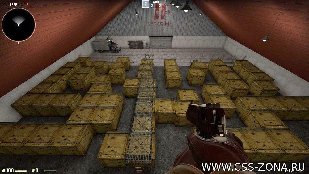 Склады и убежища в Counter Strike